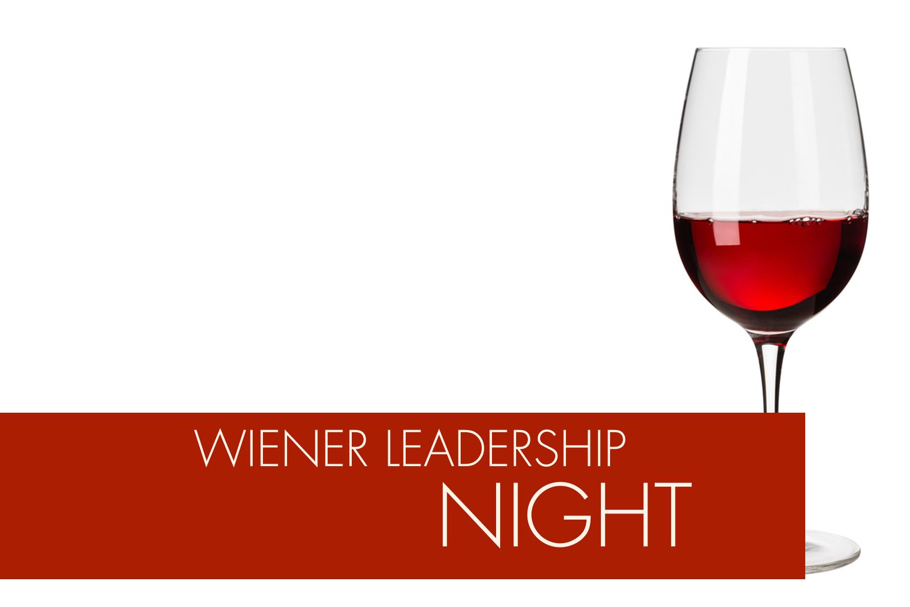 Wiener Leadership Night